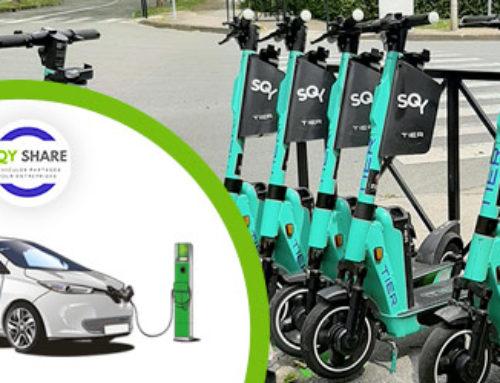 La mobilité à Saint-Quentin-en Yvelines avec l'autopartage et la trottinette électrique